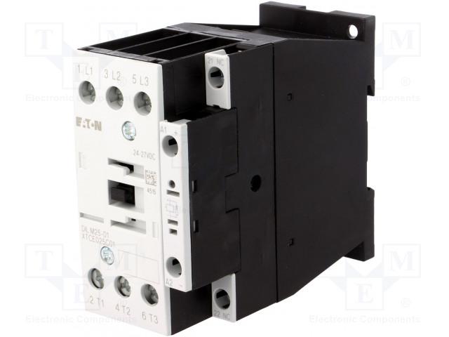EATON ELECTRIC DILM25-01(RDC24) - Stykač: 3-pólový