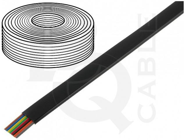 TEL-0081-100/BK BQ CABLE, Leitungen
