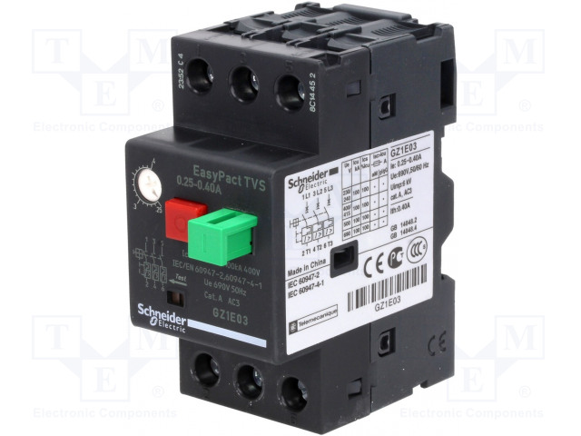 SCHNEIDER ELECTRIC GZ1E03 - Motorový jistič