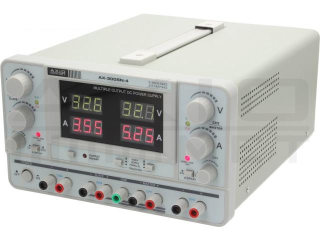 AX-3005N-4 AXIOMET, Voedingseenheid