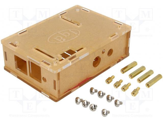 SINOVOIP BPI-M1 ARCYLIC BOX - Kryt: pro počítače