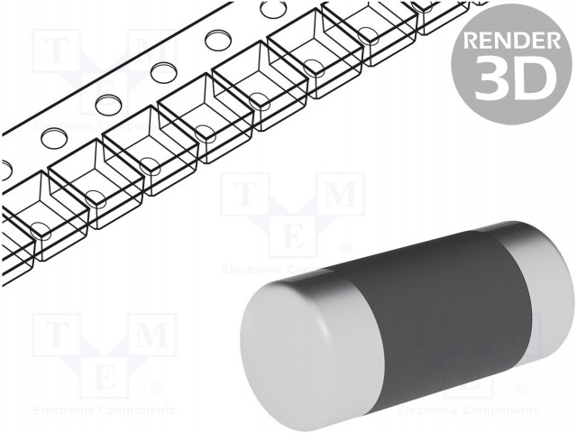Viking CSRV0204FTDG4702 - Rezistor: metal film