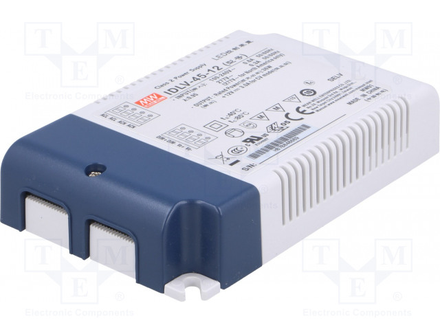 MEAN WELL IDLV-45-12 - Power supply: switched-mode
