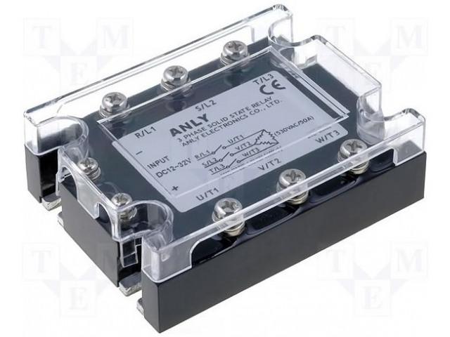 ANLY ELECTRONICS ASR-3PI100AA-H - Relé: polovidičová