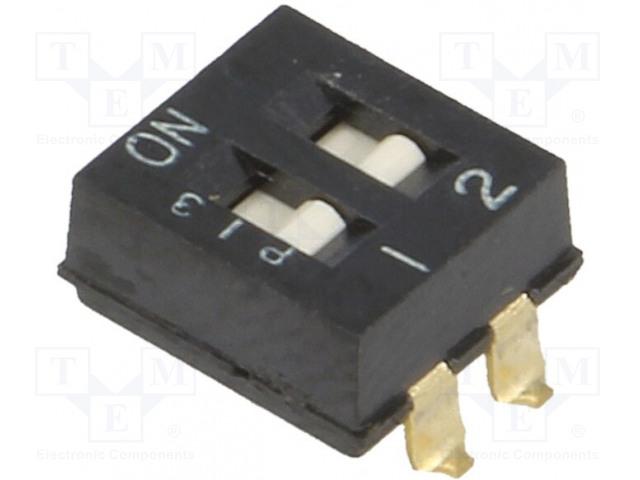 OMRON OCB A6SN-2101 - Přepínač: DIP-SWITCH