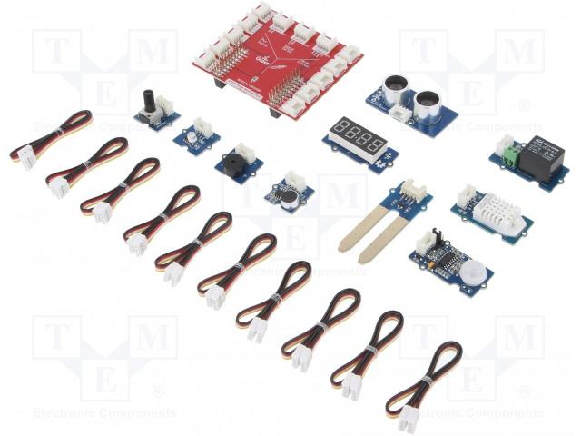SEEED STUDIO GROVE STARTER KIT FOR LAUNCHPAD - Výv.kit: Grove Starter Kit for LaunchPad
