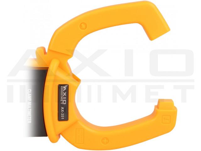 AX-351 AXIOMET, AC digitális lakatfogós multiméter