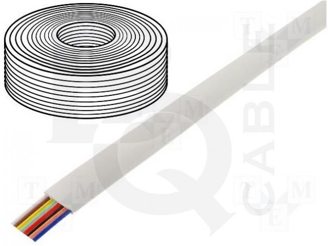 TEL-0081CCA-100/WH BQ CABLE, Leitungen