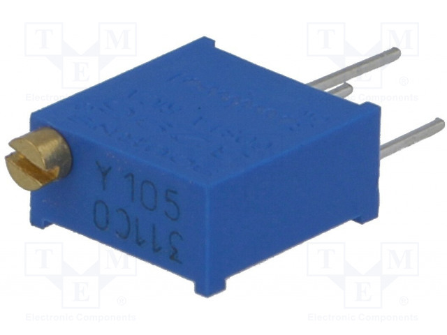 BOURNS 3296Y-1-105LF - Potenciometr: montážní