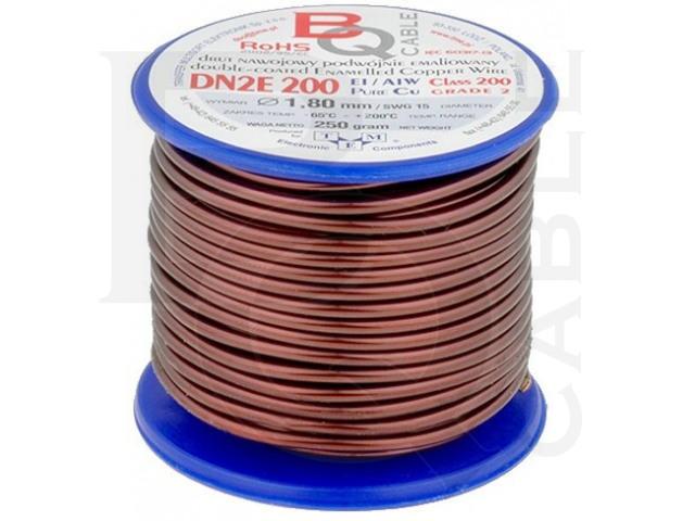 DN2E1.80/0.25 BQ CABLE, Coil wire