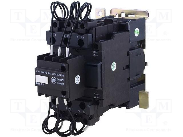 DUCATI ENERGIA DE1-D40K12 P7 - Stykač: 3-pólový