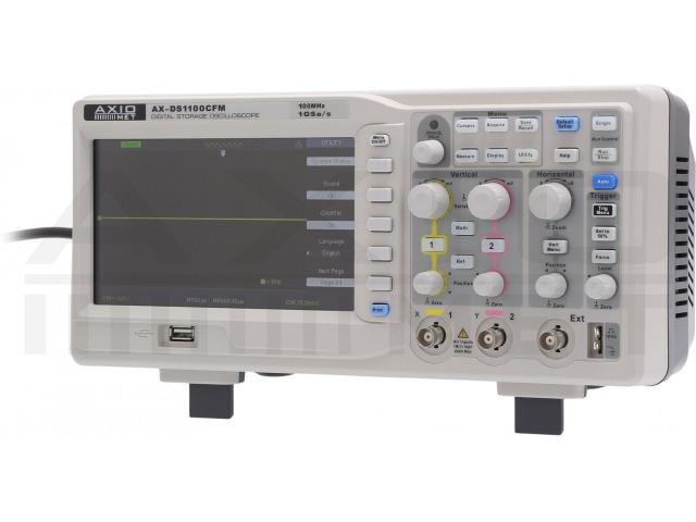 AX-DS1100CFM AXIOMET, Osciloscopio
