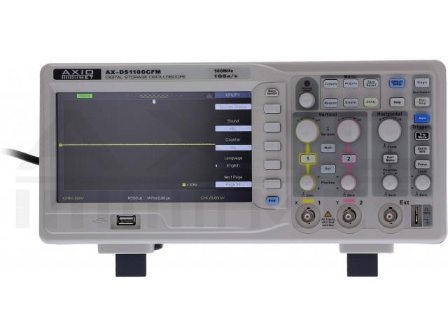 AX-DS1100CFM AXIOMET, Oscilloscope