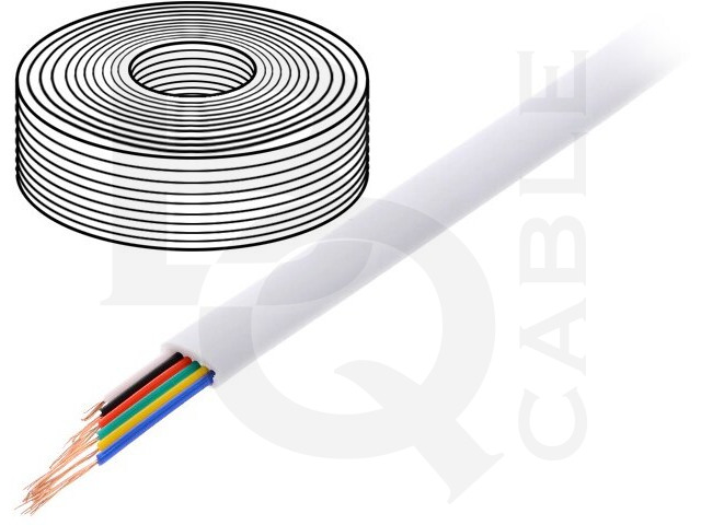 TEL-0034-100/WH BQ CABLE, Cablu
