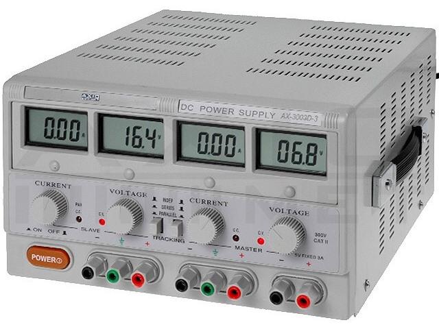 AX-3005D-3 AXIOMET, Voedingseenheid