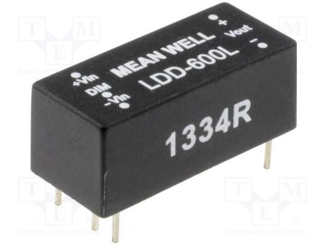 MEAN WELL LDD-500L - Převodník: DC/DC