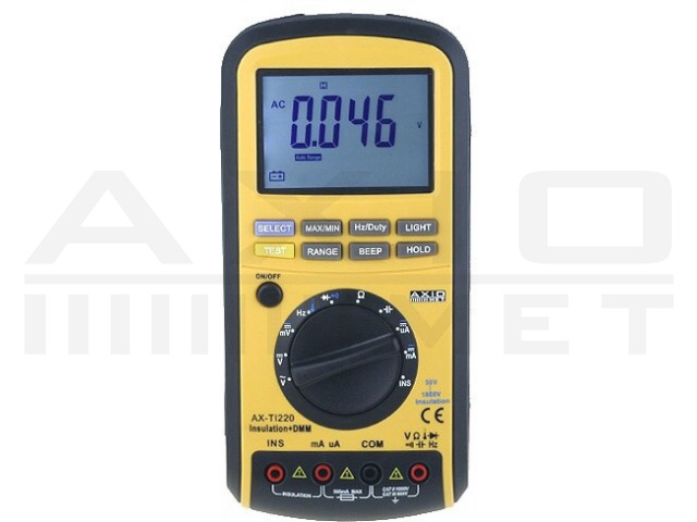AX-TI220 AXIOMET, Insulation resistance meter