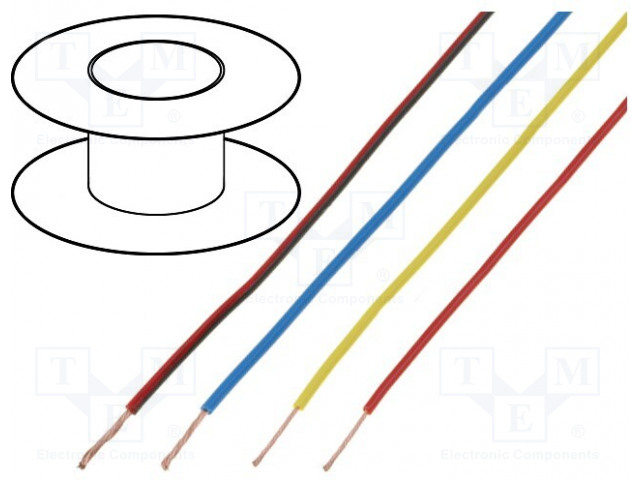 BQ CABLE LGY0.75/25-BK - Wire