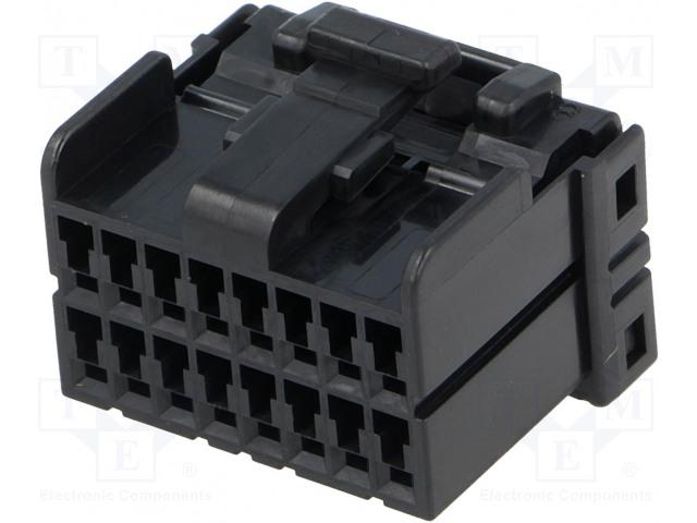 TE Connectivity 174046-2 - Connector: wire-board