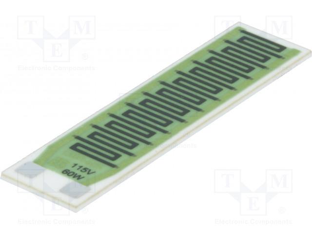TELPOD GBR-605/115/60-1 - Rezistor: thick film