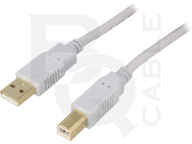 CAB-USB2AB/1.8G-GY BQ CABLE, Kabel