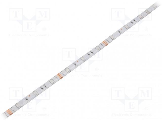 WISVA OPTOELECTRONICS HH-SRGB30F010-5050-12 WHITE PCB IP65A - Pásek LED