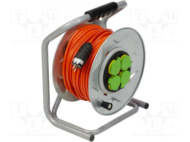 JONEX PS-BT/IP44/50-2.5 - Prodlužovací síťový kabel