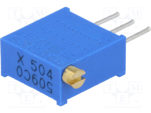 BOURNS 3296X-1-504LF - Potenciometr: montážní