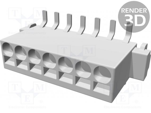 HARTING 14010713101000 - Konektor: kabel-pl.spoj