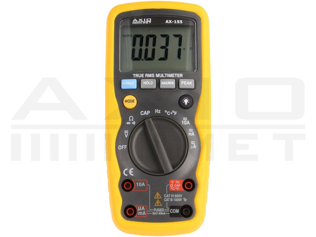 AX-155 AXIOMET, Digitale multimeter
