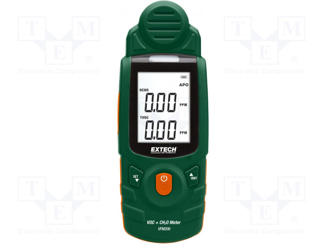 EXTECH VFM200 - Volatile organic compound (VOC) / formaldehyde meter
