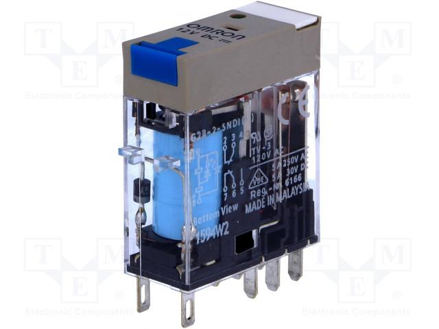 OMRON G2R-2-SNDI 12VDC (S) - Relé: elektromagnetické
