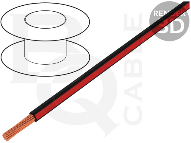 LGY0.35-BK/RD BQ CABLE, Cablu