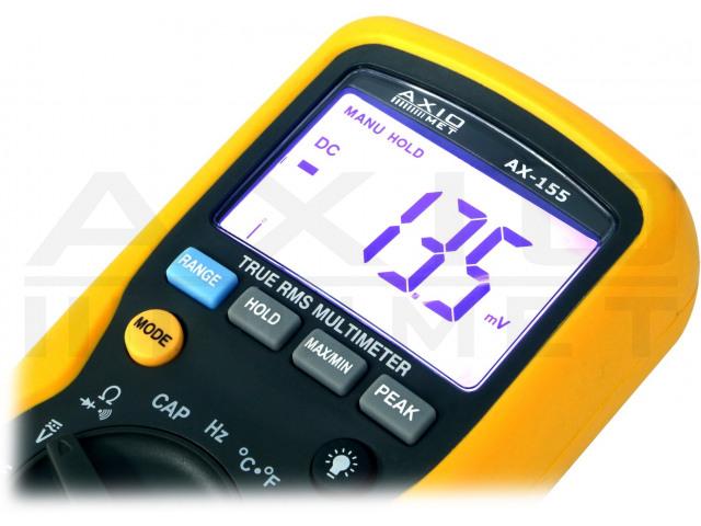 AX-155 AXIOMET, Digital multimeter