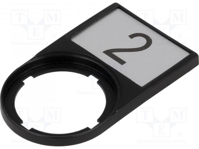EATON ELECTRIC M22S-ST-X53 - Rahmen mit Beschriftungstafel