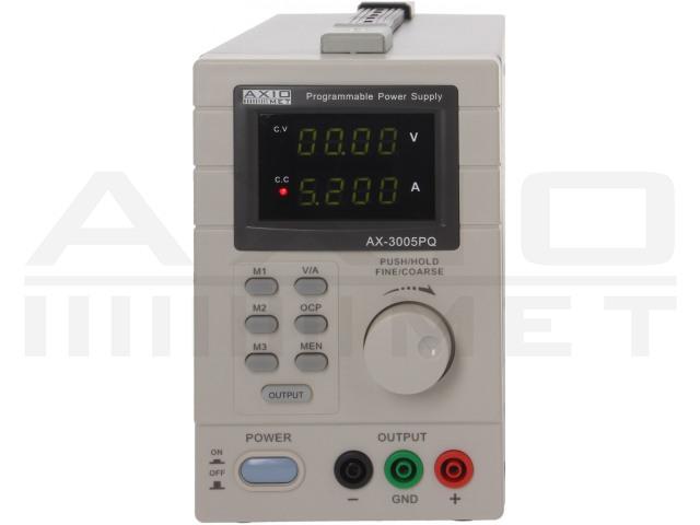 AX-3005PQ AXIOMET, Voedingseenheid