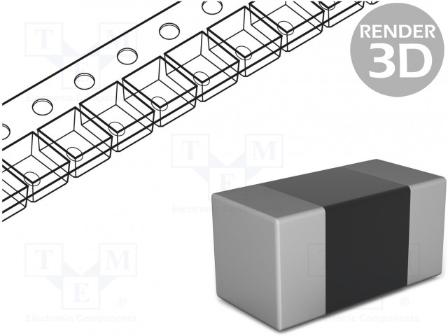 ROYAL OHM CQ03SAF1202T5E - Resistor: thick film