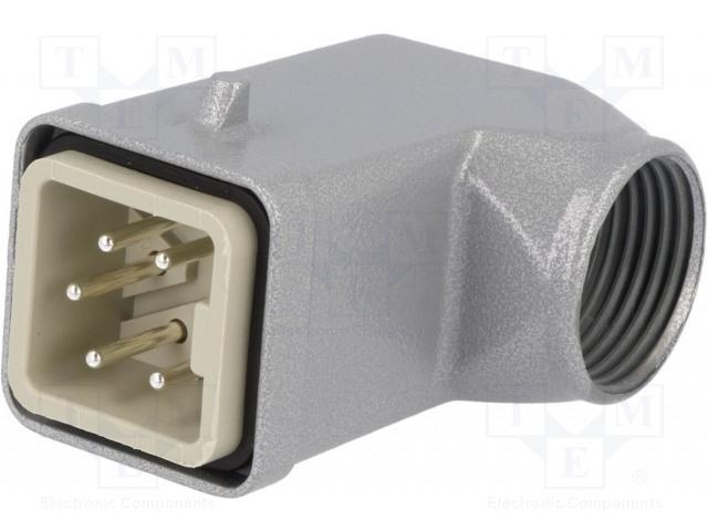 LAPP KABEL EPIC KIT H-A 4 SS MTS M20 - Konektor: hranatý