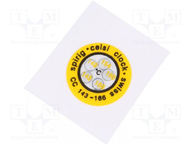 SPIRIG CC-143/166 - Indikátor teploty