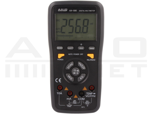 AX-595 AXIOMET, Digitális multiméter