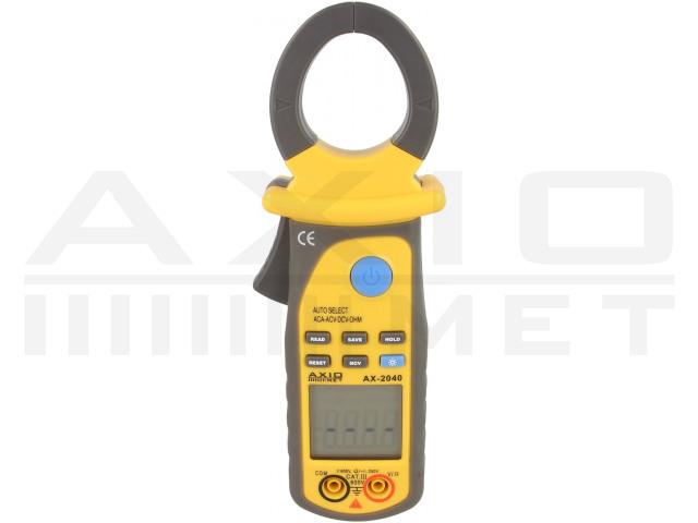 AX-2040 AXIOMET, Digitale stroomtang AC