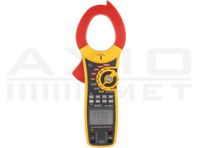 AX-3550 AXIOMET, Medidor de potencia de pinzas
