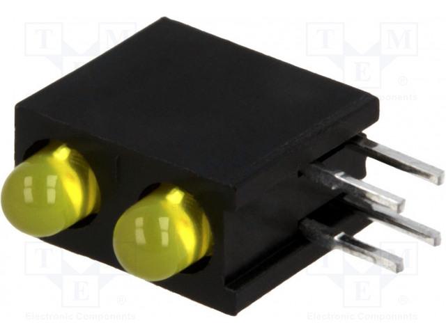 KINGBRIGHT ELECTRONIC L-934DB/2YD - LED