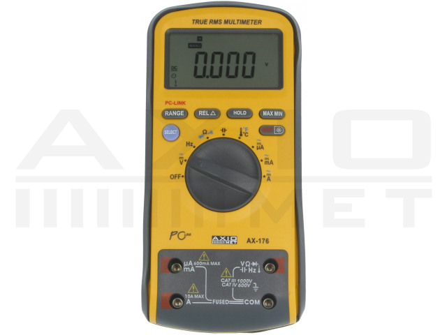 AX-176 AXIOMET, Digitale multimeter