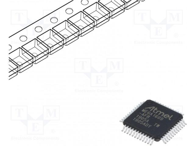 MICROCHIP TECHNOLOGY ATMEGA1609-AFR - AVR 微控制器