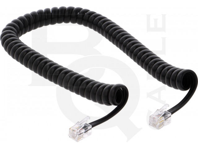 TEL-4C-02T-BK BQ CABLE, Kabel