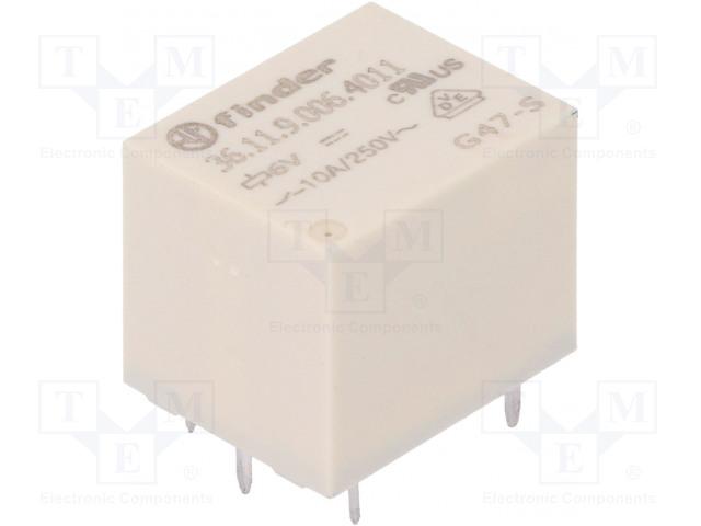FINDER 36.11.9.006.4011 - Relé: elektromagnetické