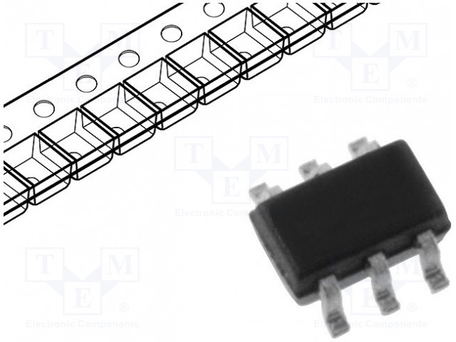 DIODES INCORPORATED BCM857BS-7-F - Transistor: PNP x2