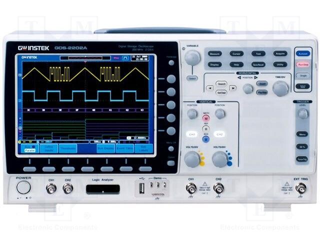 GW INSTEK GDS-2302A - Osciloskop: číslicový