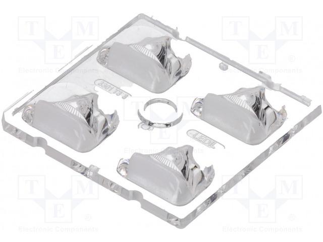 LEDIL C13301_STRADA-2X2-T3 - Čočka LED